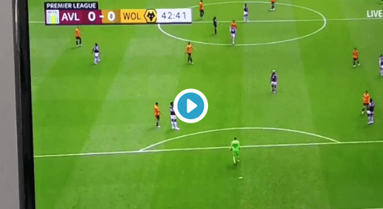Aston Villa Goalkeeper Nyland Goes Unpunished For Horrible Mistake Against Wolves (Video)