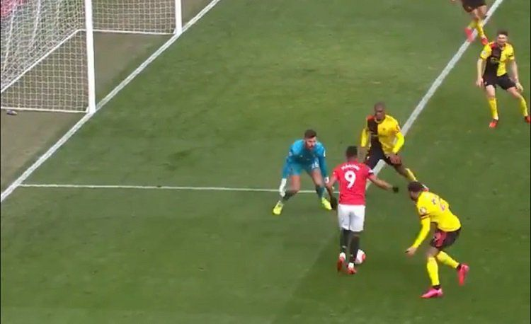 Anthony Martial Displays Superb Skills to Score In Manchester United Win Over Watford (Video)